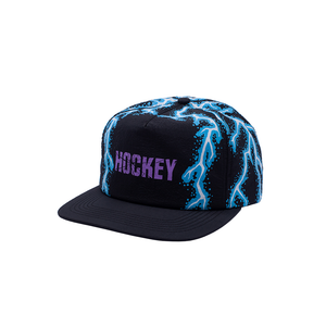 HOCKEY LIGHTNING 6-PANEL HAT BLACK