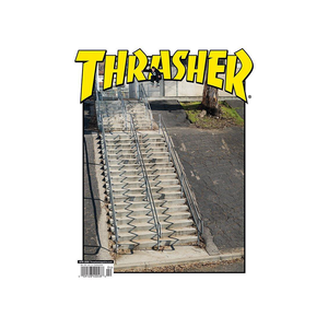 THRASHER MAGAZINE APRIL 2020 ISSUE 477