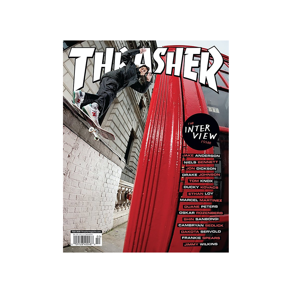THRASHER MAGAZINE ISSUE #475 FEBRUARY 2020