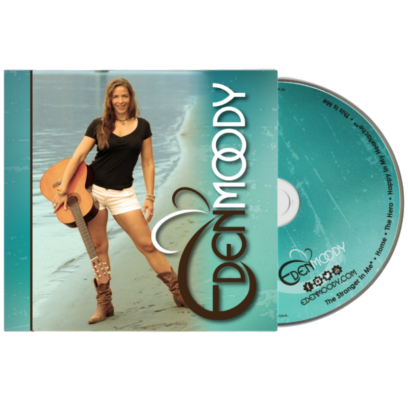 EDEN MOODY (EP) - Physical CD + Digital Download