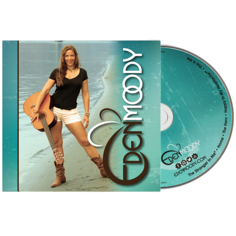 "Image of EDEN MOODY (EP) - CD (FREE with code ""gift18"" at checkout)"