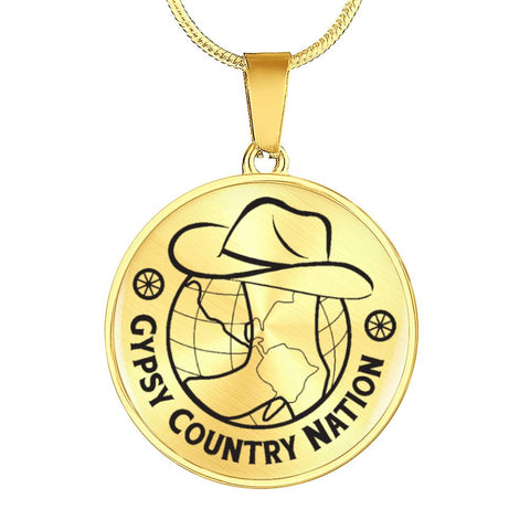Image of Gypsy Country Nation Jewelry (Engraved in Black)