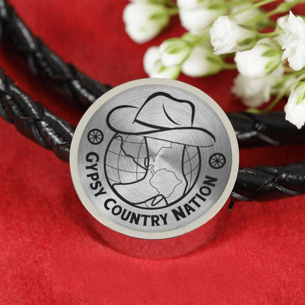 Gypsy Country Nation Leather Band