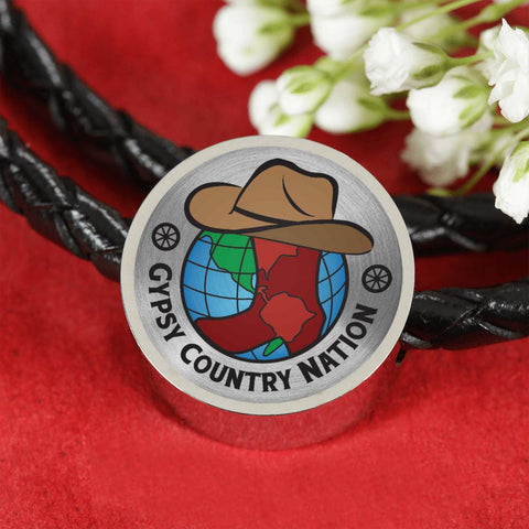 Image of Gypsy Country Nation Leather Charm Jewelry