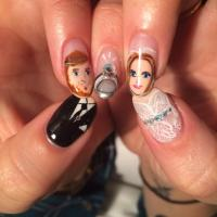 Bling Trends: Nail art not for the faint-hearted