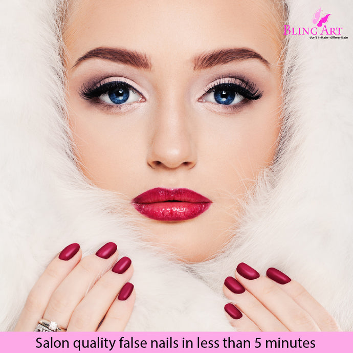 False Nails - Protection This Winter