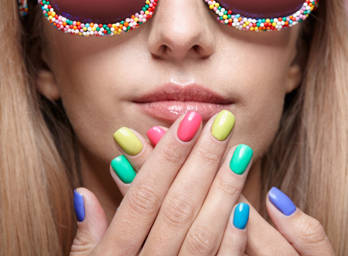 False Nails - The Best Summer Option
