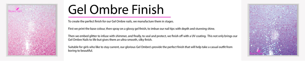 Gel Ombre Finish