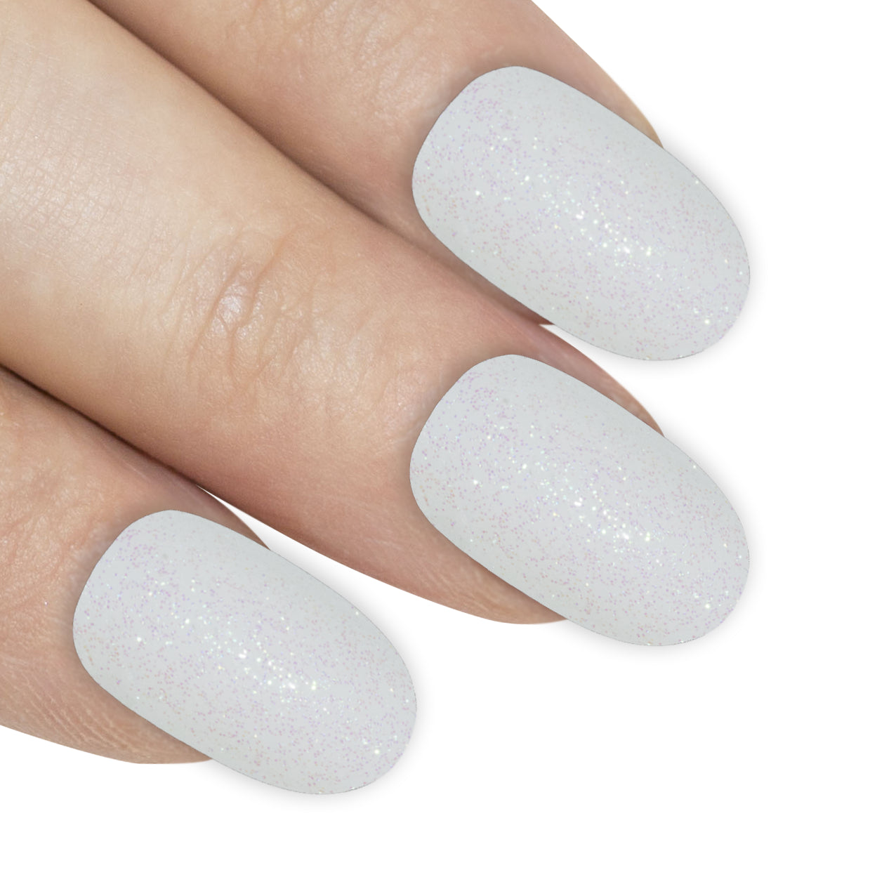 False Nails by Bling Art White Gel Oval Medium Fake Acrylic 24 Tips with Glue, Health & Beauty by Bling Art