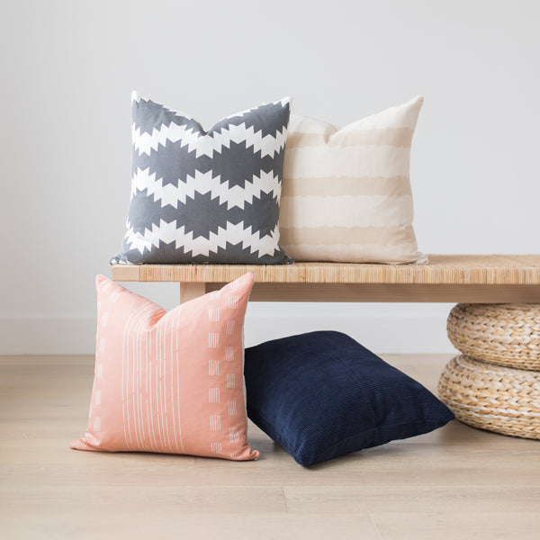 Variety of Woven Nook pillow covers