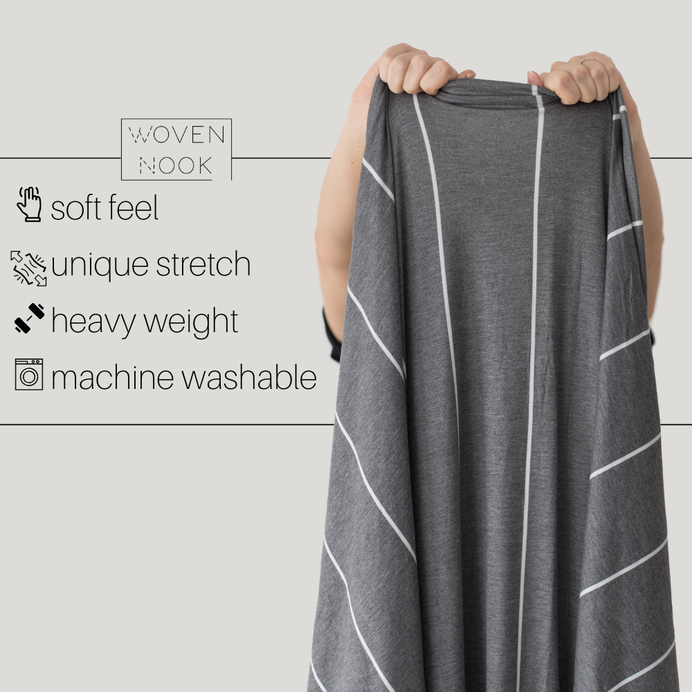Premium Stretch Throw - Coal