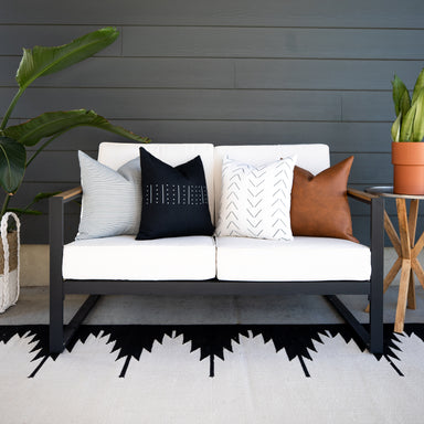 Outdoor Pillow Covers Woven Nook