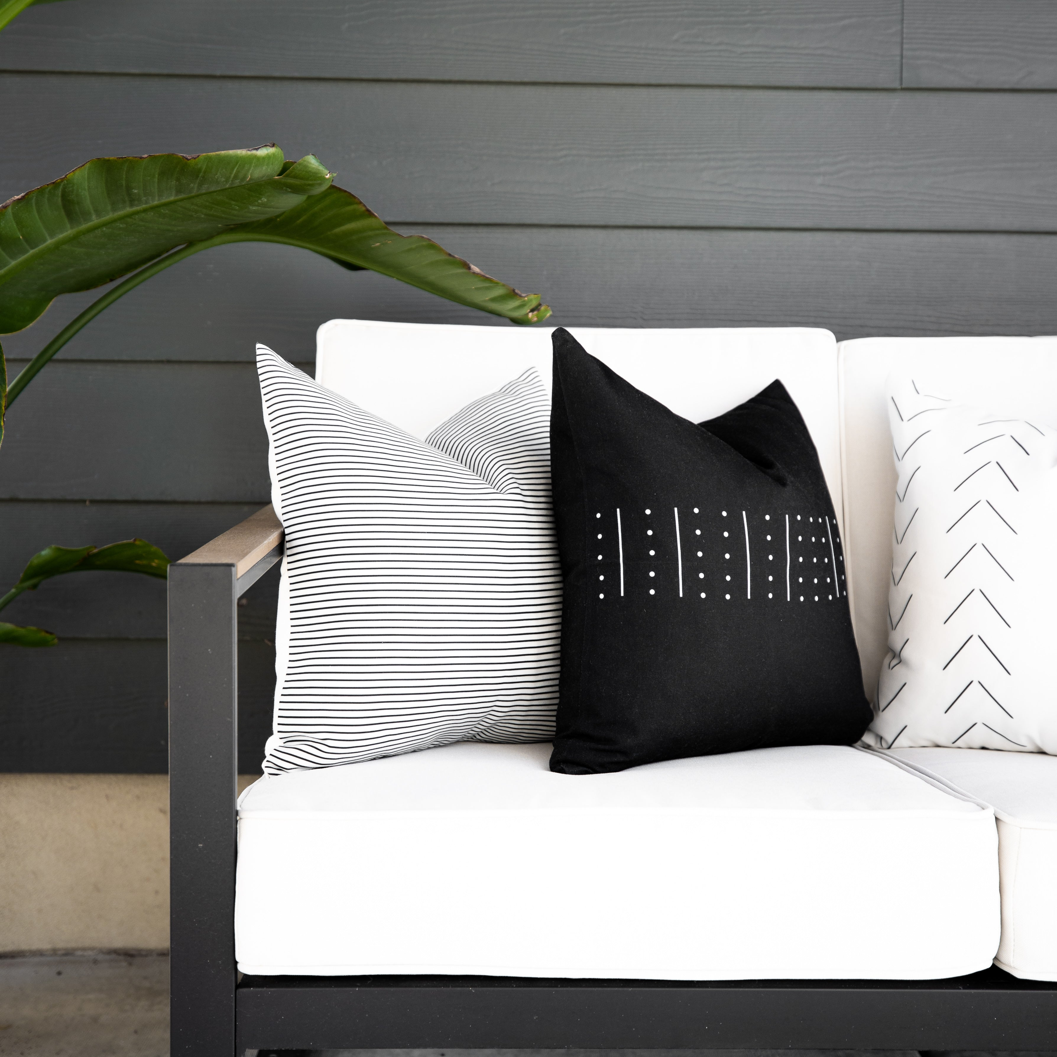 WILLA - 18'' Outdoor Pillows 4-pack