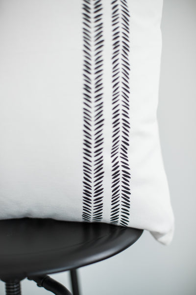 Sahara - Herringbone Stripes Single - 18''