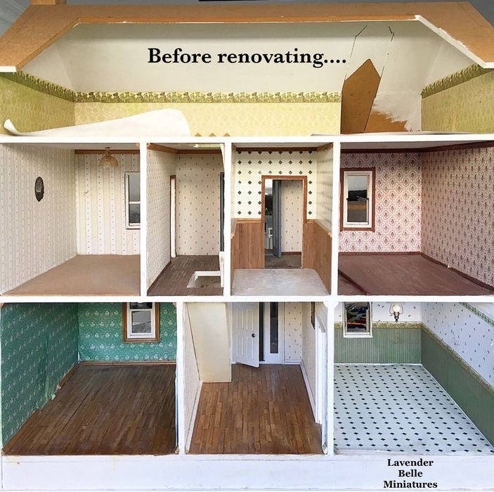 Rosabrook Lodge Dollhouse - 1:12 scale