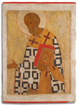 4522 | Russian Icon of St. Nicholas the Wonderworker