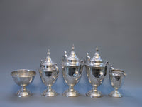 American Silverplate Coffee & Tea Set | 3255