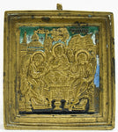 Russian Bronze Icon of Old Testament Trinity | 3643