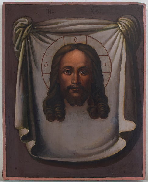 Russian Icon of Christ Image Not Made by Hands | 3795