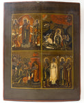 Four Parts Russian Icon | 3884