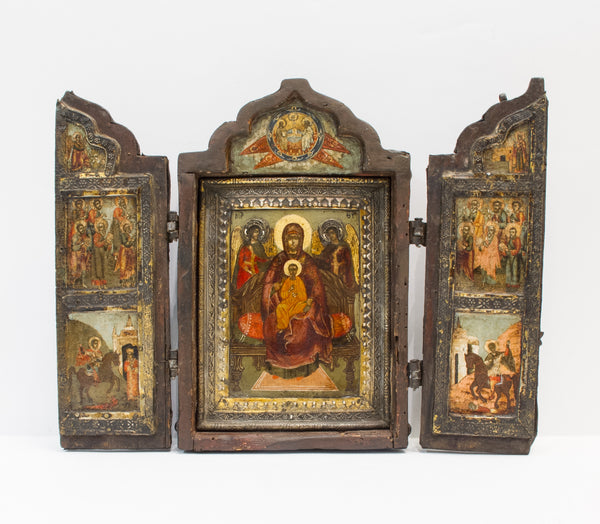 Russian Triptych, 17th century | 3943