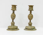 A Pair of Bronze Candlesticks, 17th century | 4329