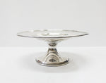 American Sterling Silver Pedestal Plate by the BBB | 4358
