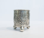 4405 | Russian Silver Beaker on Ball Feet, 1766