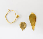 4420 | Three Gold/Bronze Jewelry Pieces, 2nd-3rd Century BC