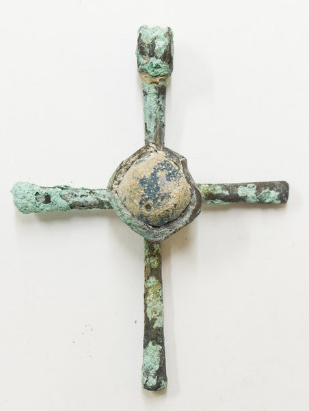 Byzantine Cross 9-11th century, with Stone in the Center | 1811