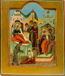 Russian Icon of Nativity of the Virgin | 4251
