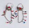 Antique Ethnic Tribal Earrings | 3729