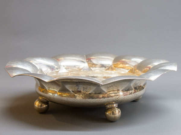 German Silver Footed Bowl | 3100
