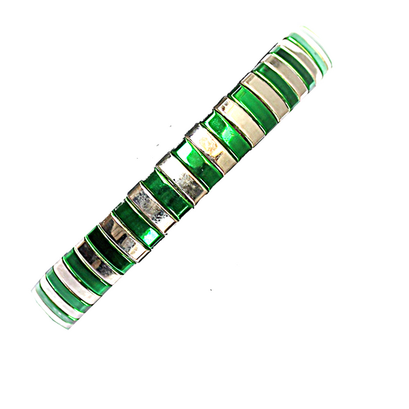 Green Living in Colour Bangle
