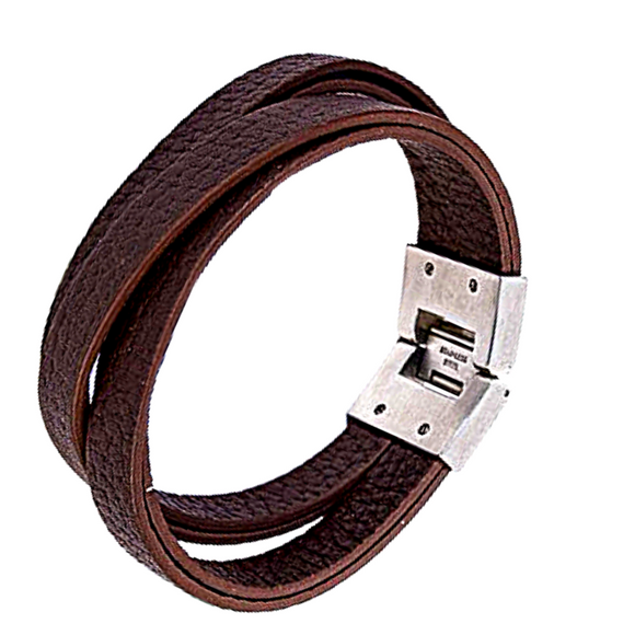 Leather Strip Bangle