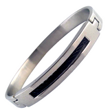 Cable Inlay Bangle