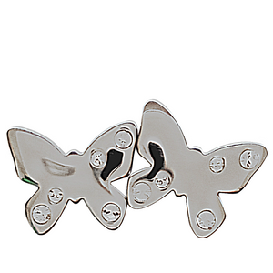 """Enthrall"" Butterfly Earrings"