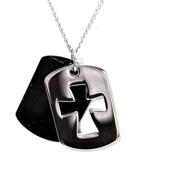 """Creed"" Double Dog Tag"