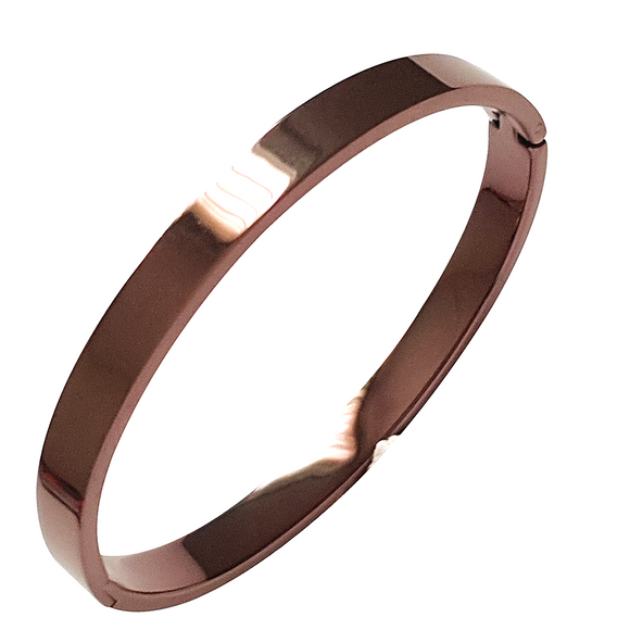 Nicoma Bangle in Bronze