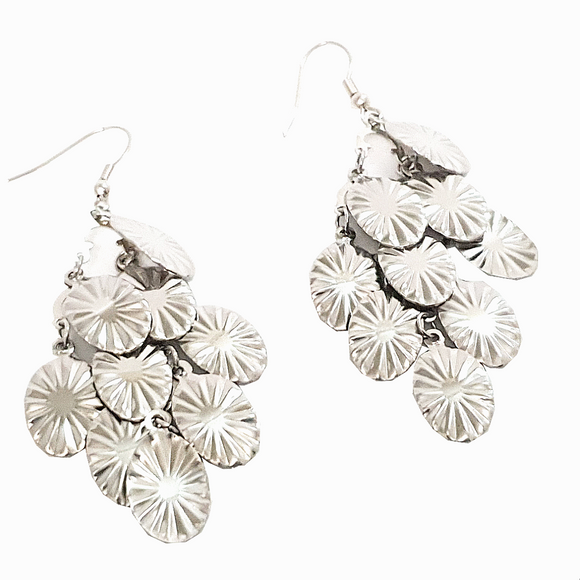 Cascading Leaves Charm Earrings