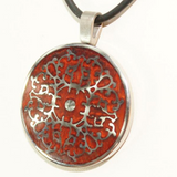 Brown Medallion Pendant
