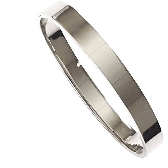 Nicoma Bangle in Silver