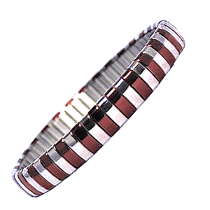 Red Living in Colour Bangle