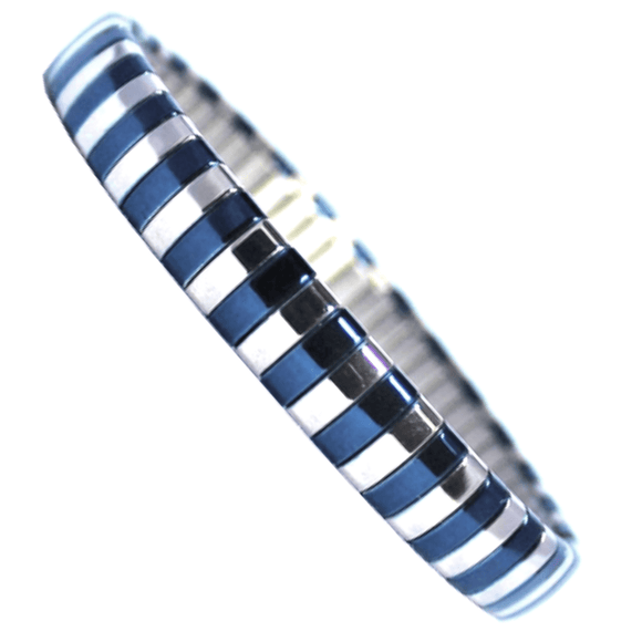 Blue Living in Colour Bangle