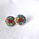 Colourful Cub Earrings