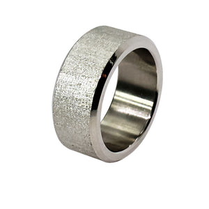 Sandblast Finish Ring