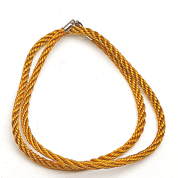 Dark Gold Silk Cord
