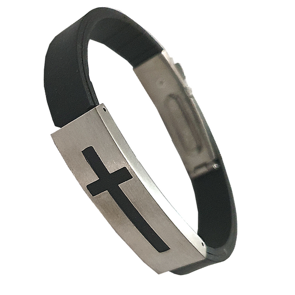 Cross Noir Bangle