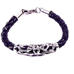 Filigree Rope Bracelet