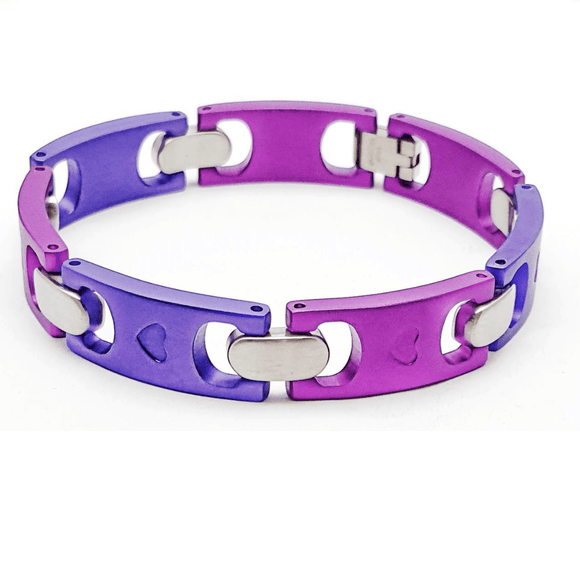 Purple and Lilac Bracelet